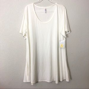 Lularoe | 3XL White Perfect T
